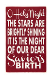 O Holy Night Prints by Erin Deranja