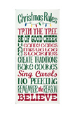 Christmas Rules Prints by Erin Deranja