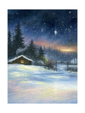 Heavenly Night Print by Vickie Wade