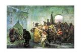 Ice Palace, 1878 Giclee Print by Valery Ivanovich Jacobi