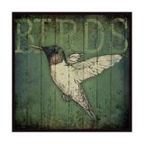 Lodge Bird 7 Print by Stephanie Marrott