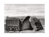 The Taq-I Kisra from the Air, Ctesiphon, Iraq, 1925 Giclee Print by A Kerim