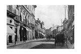 15th November Road, Sao Paulo, Brazil, 1895 Giclee Print by A Frisch
