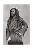A Bedouin of the Desert, Iraq, 1925 Giclee Print by A Kerim