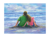 Beach Lovers 2 Posters by Vickie Wade