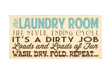 Laundry Room Posters por Erin Deranja