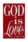 God Is Love Posters af Erin Deranja