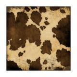 Cow Hide Poster von Stephanie Marrott