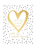 Whole Heart Prints by Jo Moulton