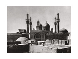The Golden Domes and Minarets of the Al-Kadhimiya Mosque, Baghdad, Iraq, 1925 Giclee Print by A Kerim