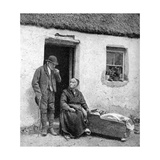 Waiting for the Doctor in Remote Galway, Ireland, 1922 Giclee Print by AW Cutler