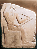 Thoth, Ibis-Headed God of the Moon, Ancient Egyptian, 5th-6th Dynasty Photographic Print