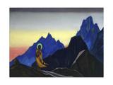 Bhagavan, 1943 Giclee Print by Nicholas Roerich