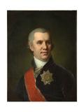 Portrait of Alexei Cyprian Rokosowski, before 1804 Giclee Print by Vladimir Lukich Borovikovsky
