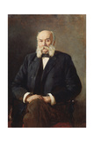 Portrait of the Author Ivan Goncharov (1812-189), 1888 Giclee Print by Nikolai Alexandrovich Yaroshenko
