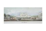 The Saint Petersburg Imperial Bolshoi Kamenny Theatre Giclee Print by Vasily Semyonovich Sadovnikov