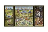 Hieronymus Bosch - The Garden of Earthly Delights, 1500S Digitálně vytištěná reprodukce