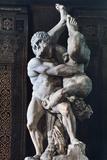 Hercules and Diomede, C Mid 16th Century Photographic Print by Vicenzo di Raffaello de Rossi