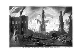 The Great Fire of London in the Year 1666 Giclee Print