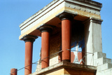 Reconstructed Balustrade West Front of the Palace of Knossos, Crete, C1400 BC Photographic Print