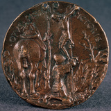 Medail to the Glory of Sigismondo Pandolfo Malatesta' (Revers), 1446 Photographic Print by Matteo di Andrea de Pasti