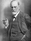 Sigmund Freud (1856-193), Austrian Neurologist Fotodruck