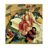 Christ Rising from the Tomb, the Wings of the Wurzach Altar, 1437 Giclee Print by Hans Multscher