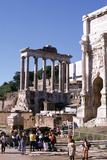 Ruins of the Forum and Temple of Saturn, Rome Photographic Print