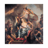 The Sacrifice of Iphigenia, 1680 Giclee Print by Charles de La Fosse