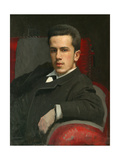 Portrait of Anatoly Kramskoy, The Giclee Print by Ivan Nikolayevich Kramskoi