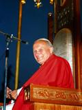 Pope John Paul II Fotografisk tryk