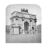 Arc De Triomphe Du Carrousel, Paris, Late 19th Century Giclee Print by Albert Hautecoeur
