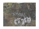 Circle Dance, Early 1900s Giclee Print by Nicholas Roerich