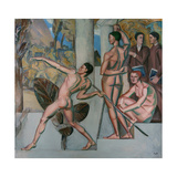 Mens Sana in Corpore Sano (A Healthy Mind in a Healthy Bod), 1912 Giclee Print by Georg Pauli