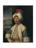 Portrait of an European in Turkish Costume, Second Half of the 18th C Giclee Print by Antoine de Favray