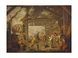 Cumaean Sibyl Prophesied the Birth of Christ, 1738 Giclee Print by Giovanni Paolo Panini