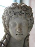 Head of a Half Figure of Eros, 2nd Century Photographic Print