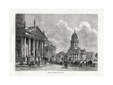 Schiller Platz, Berlin, Germany, 1879 Giclee Print by A Deroy