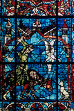 The Butchers, Stained Glass, Chartres Cathedral, France, 1194-1260 Photographic Print