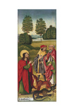 The Miracle of Saint Matthew Taming the Dragons, 1478 Giclee Print