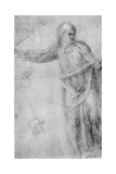 Study for a Figure of Christ, C1555 Giclee Print by  Michelangelo Buonarroti