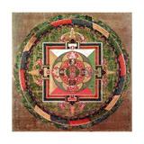 Tibetan Buddhist Mandala Giclee Print