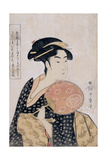 Takashima Ohisa (Ohisa of the Takashima Tea-Sho), C. 1793 Giclee Print by Kitagawa Utamaro