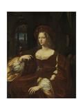 Portrait De Dona Isabel De Requesens, Vice-Reine De Naples (1500-157), Ca 1518 Giclee Print by  Raphael