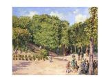 Town Park in Pontoise, 1873 Reproduction procédé giclée par Camille Pissarro