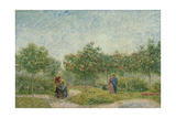 Courting Couples in the Voyer D'Argenson Park in Asnières, 1887 Giclee Print by Vincent van Gogh