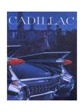 Poster Advertising a Cadillac, 1959 Giclee Print