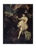Susanna and the Elders Giclee Print by Francesco Albani