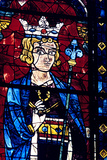 Solomon, Stained Glass, Chartres Cathedral, France, 1194-1260 Photographic Print