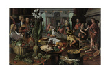 Christ in the House of Martha and Mary, 1553 Giclee Print by Pieter Aertsen